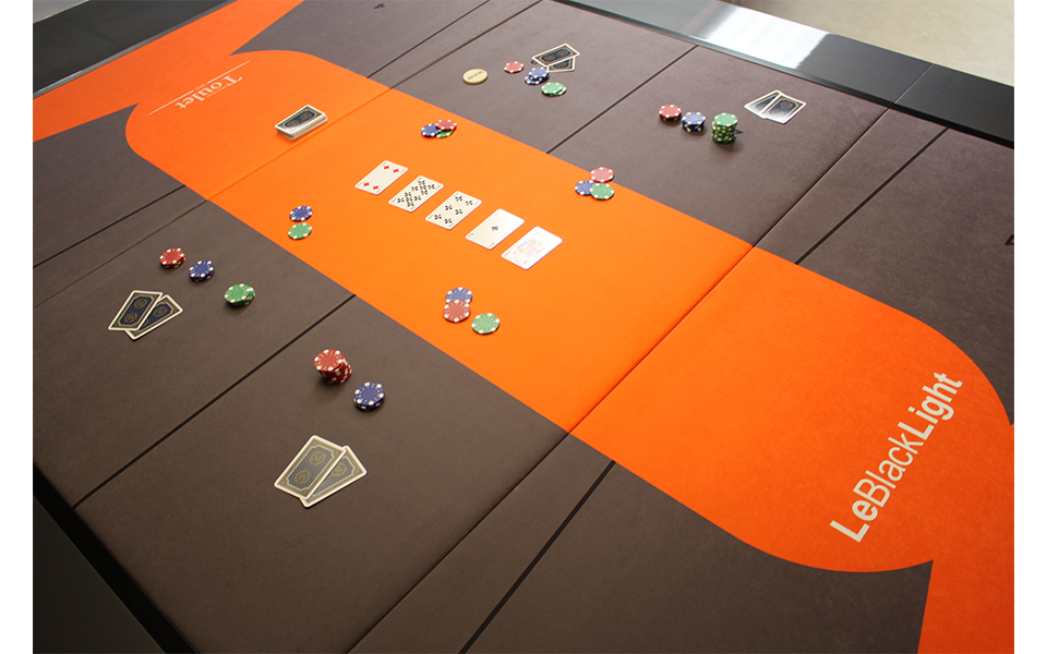 billiards convertible into poker table