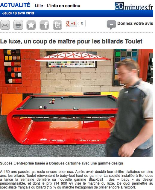 Article-presse-2àminutes-lille-Billard-toulet1