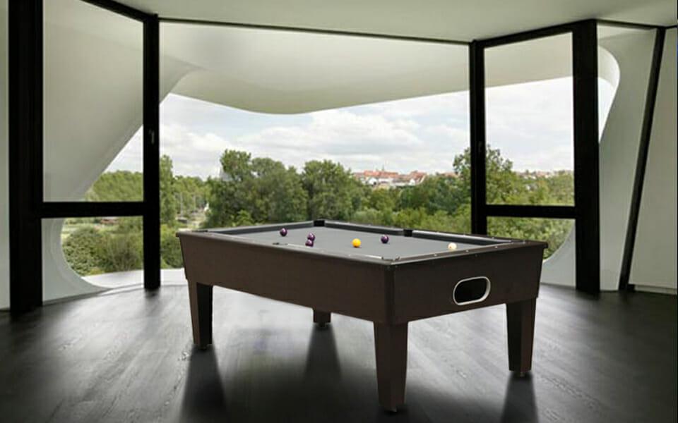 Blackball pool table - Billiards Toulet