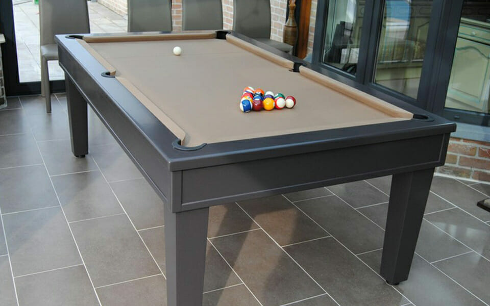 Pool table convertible into a table Sweet Home - Toulet