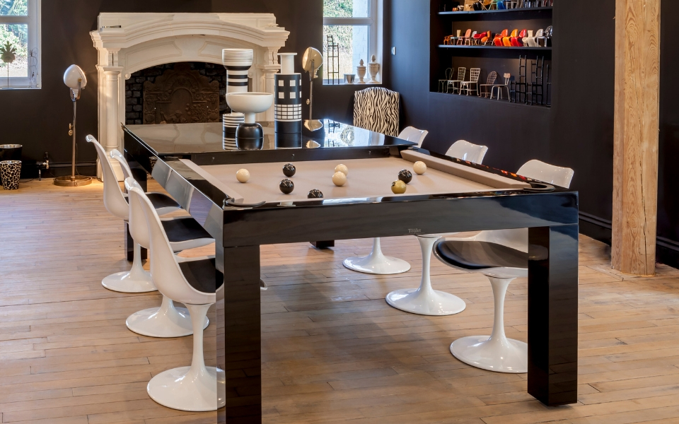 Pearl Pool table - design - Billiards Toulet