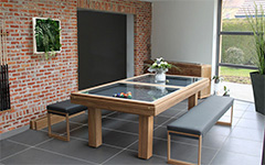 Billiard tables - Teck - Indoor - Outdoor - Billards Toulet