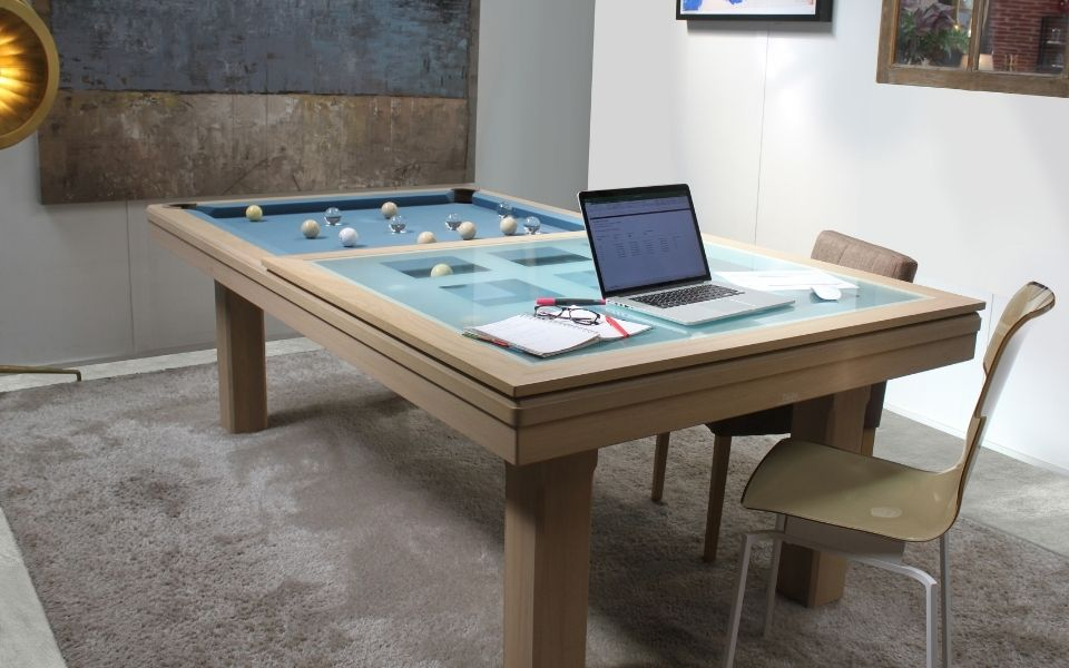 Pool table convertible into a desk - Toulet