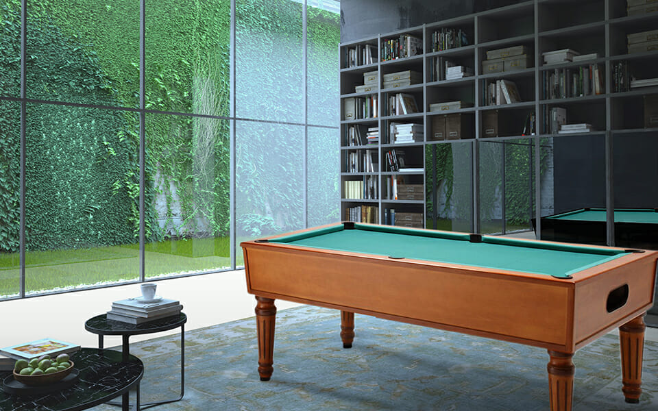 Ambiance pool table - Billiards Toulet