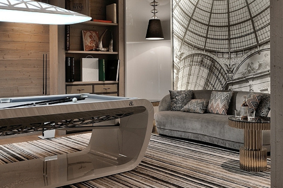 Luxury Billiard tables - Billards Toulet - Design