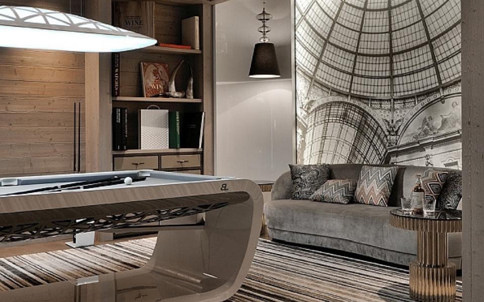 Luxury billiard tables - Blacklight - Billards Toulet