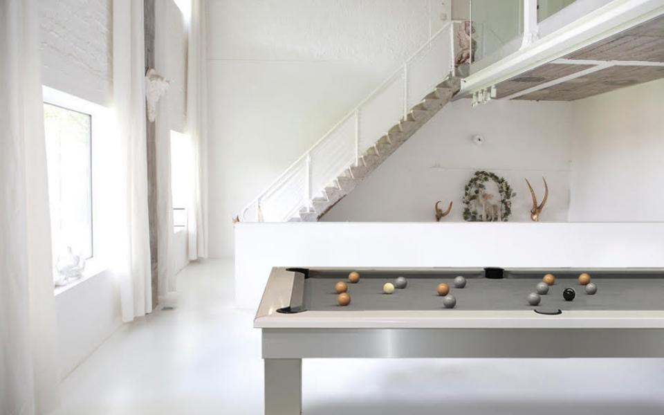 Billiard Lambert Table - pool table grey design - Billards Toulet