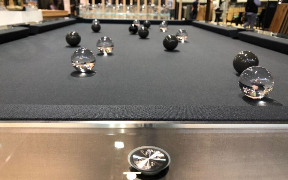 Billiard table - Design - Glass - Carat Light