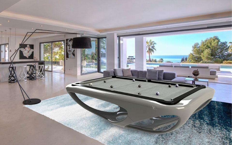 Billiards Toulet - Design - Billiard Whitelight - Billiard table