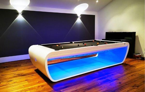Billiard blacklight in 280 - Pool table american Toulet