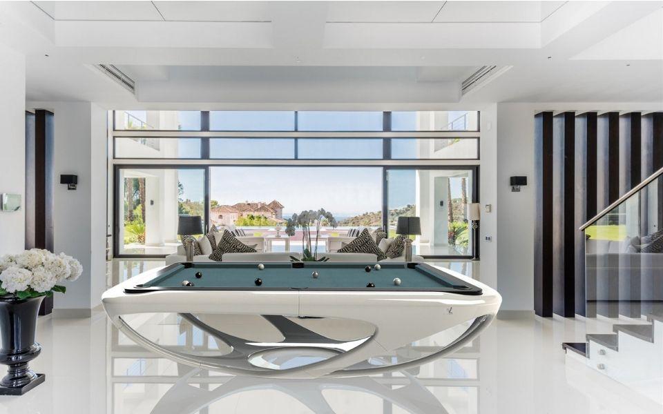 Billiard white - Design - Billiards Toulet - Whitelight