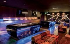 Personal billiard design blacklight Dubai