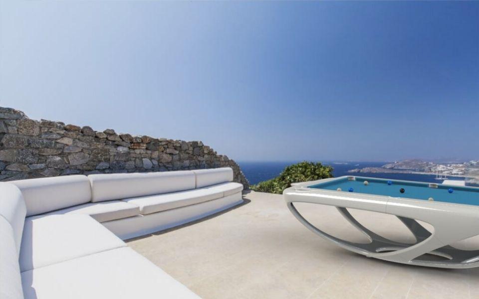 Billiard outdoor design - Billiards Toulet