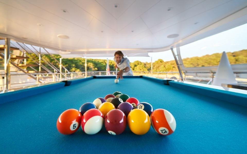Billiards Toulet leisure - American pool table
