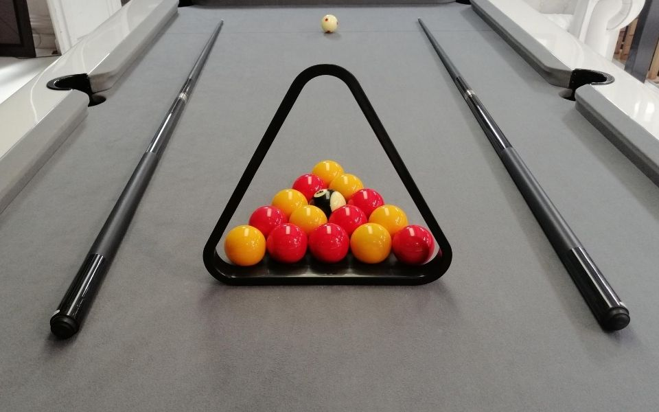 Blackball billiards - 8 pool - English billiards - Toulet