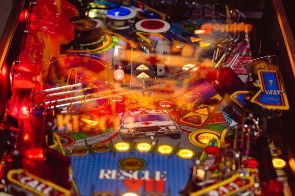 Invention pinball machine - Toulet
