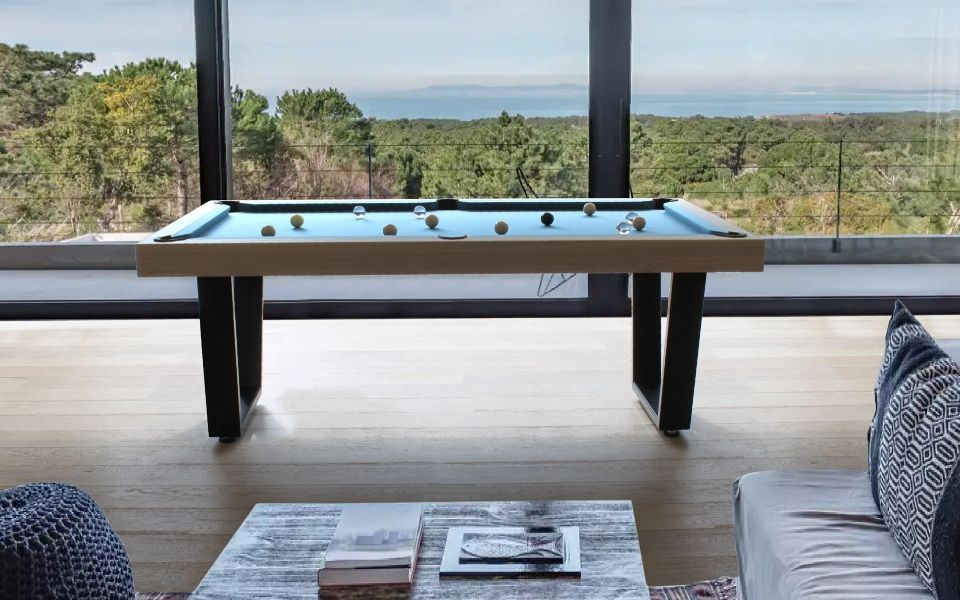 Iron pool table industrial - Billiards Toulet