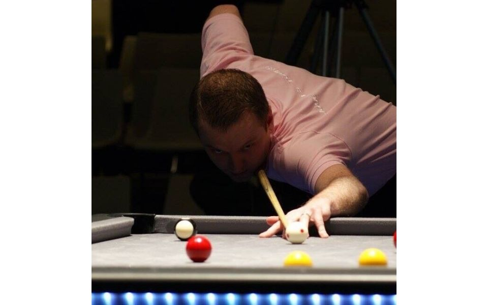 8 pool and snooker player - Johan Lorek