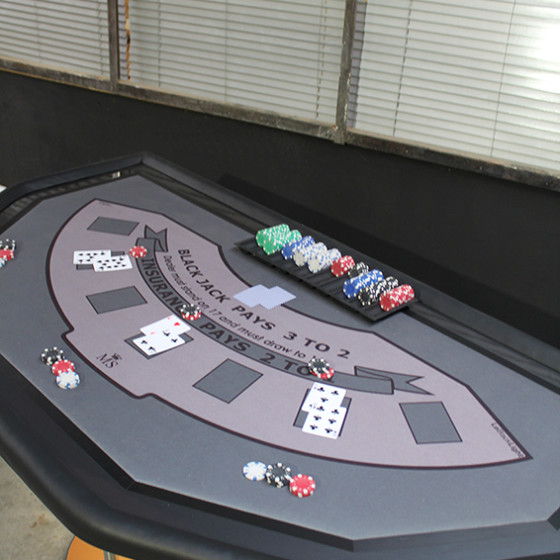 LA GAMME - table casino-version BlackJack