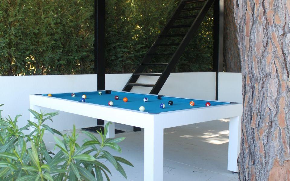 Pearl Kerrock Pool table outdoor - Billiards Toulet