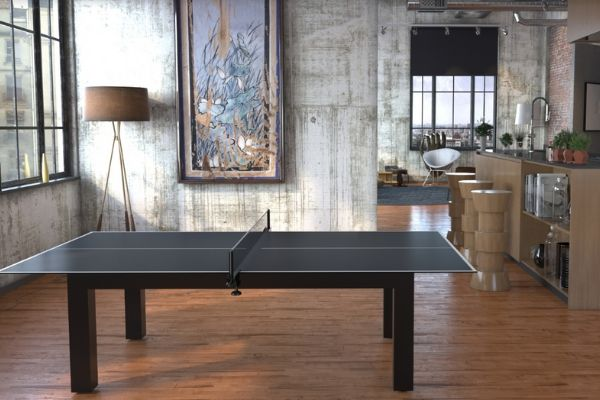 Pool table convertible into a ping-pong table - Toulet