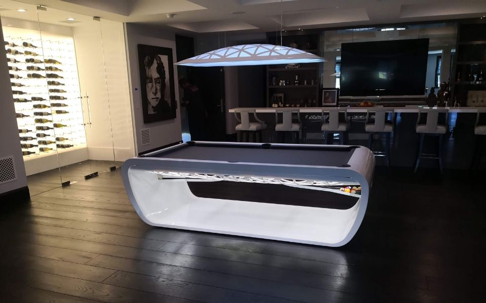 Pool table in Los Angeles - Luxury Billiards - Toulet
