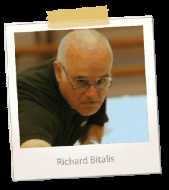 french billiard player - Richard Bitalis