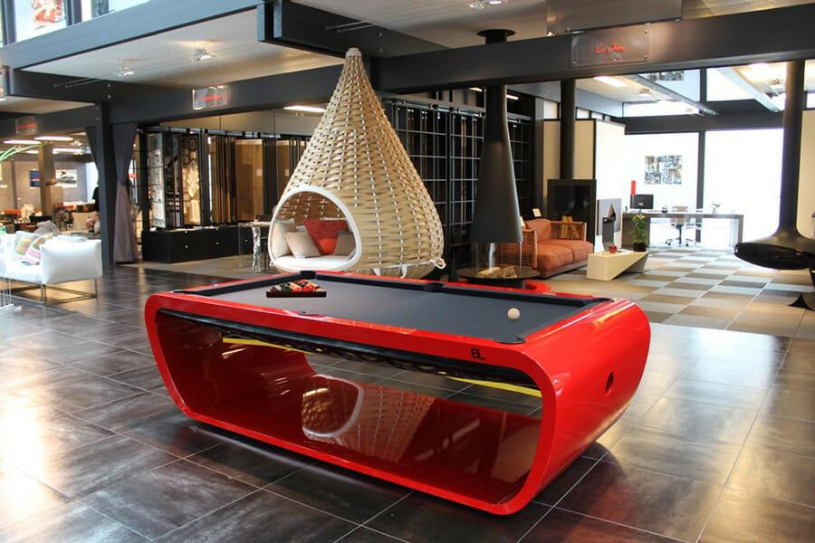 Pool table design - Blacklight