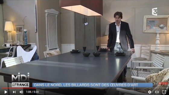 billards toulet- reportage midi en france sur les billards toulet
