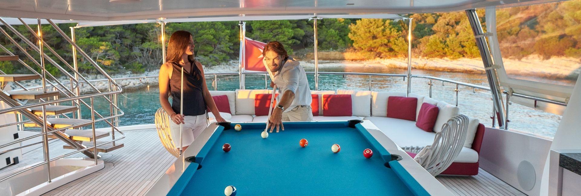 Billiard for yacht luxury - Billards Toulet