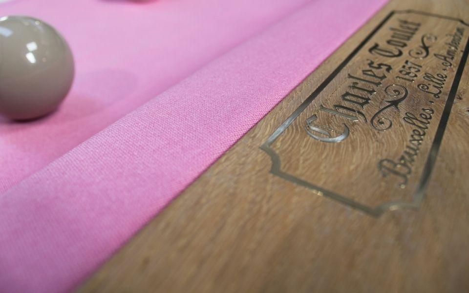 Bubble gum pink - original color - Billards Toulet