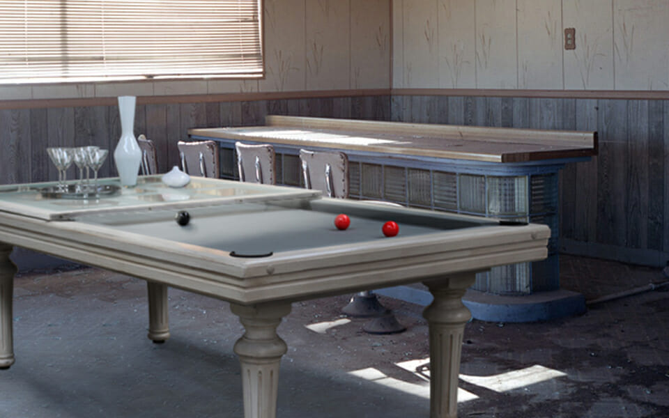 Classic billiard table Excellence - French style - Toulet
