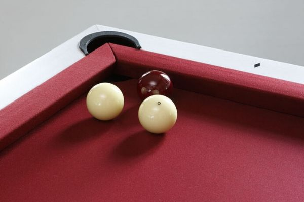 french billiard into American billiard - mixed Toulet