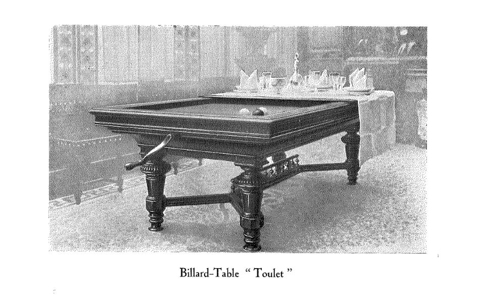 invention of the pool table that can be transformed into a table