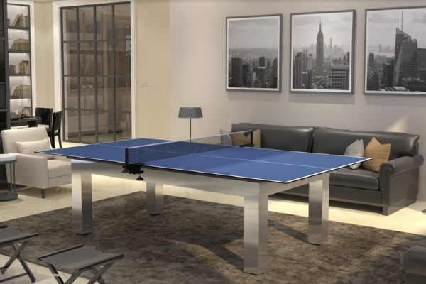pool table and ping-pong table - Toulet