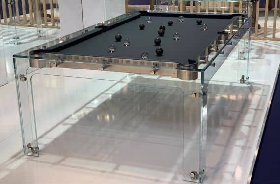 Pool table design Billiards Toulet