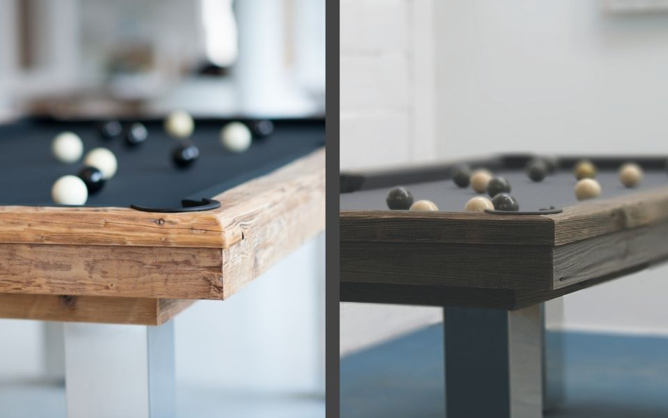 Pool table unique in wood - Billiards Toulet