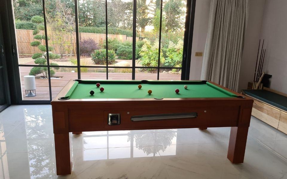 Pool table in wood - The Week-end - Billards Toulet